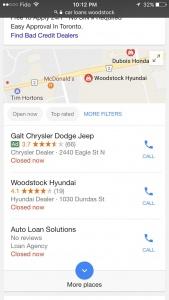 Google-ը փորձարկում է կրճատել օրգանիկ արդյունքերի քանակը տեղական որոնումներում